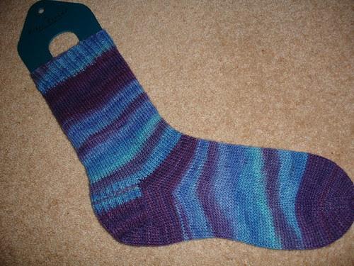 Charlotte's b'day socks WIP (5)