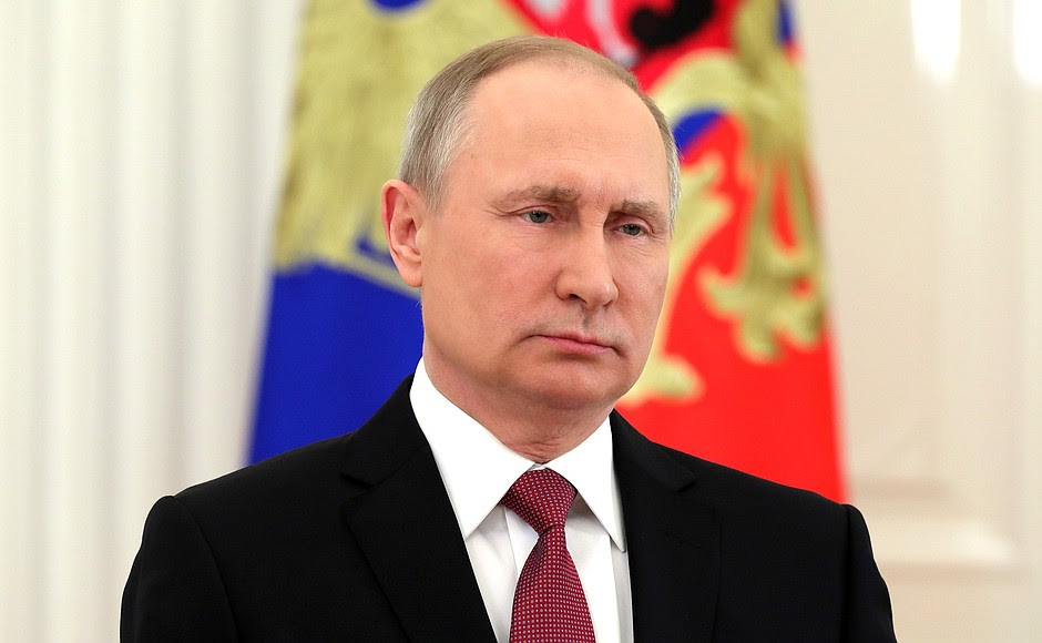 Vladimir Putin addressed the citizens of Russia following the announcement of the presidential election official results by the Central Election Commission.