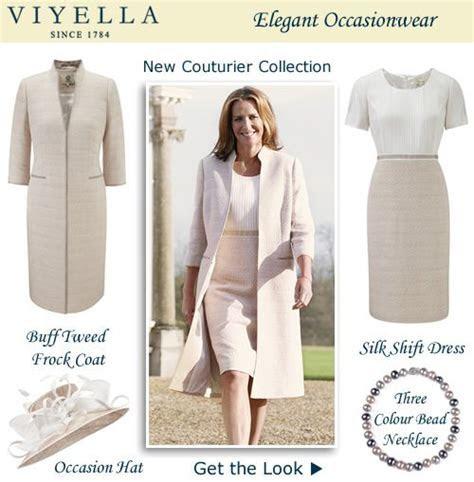 Tweed Pastel Frock Coat Matching Silk Shift Dress for