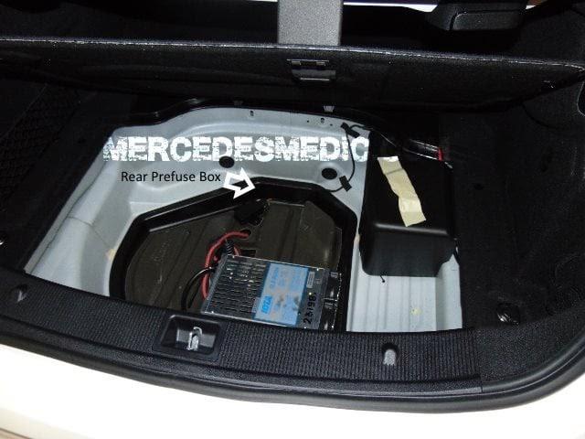 Mercede Benz 2008 C300 Fuse Box Diagram
