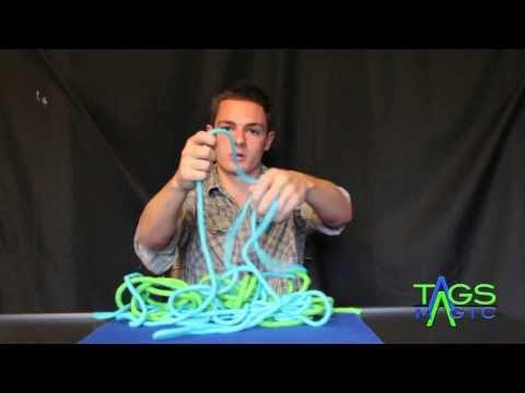 3-2-1 Rope Magic Trick