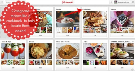 Using Pinterest to Stay Out of a Meal Planning Rut