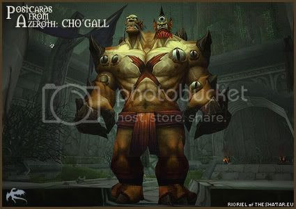 Postcards of Azeroth: Cho'gall, by Rioriel of theshatar.eu