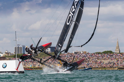 Win 4 Tickets for America's Cup 2016 in Portsmouth