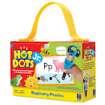 Learning Resources EI-2352BN 2 Each Hot Dots Jr Cards Beginning Phonics