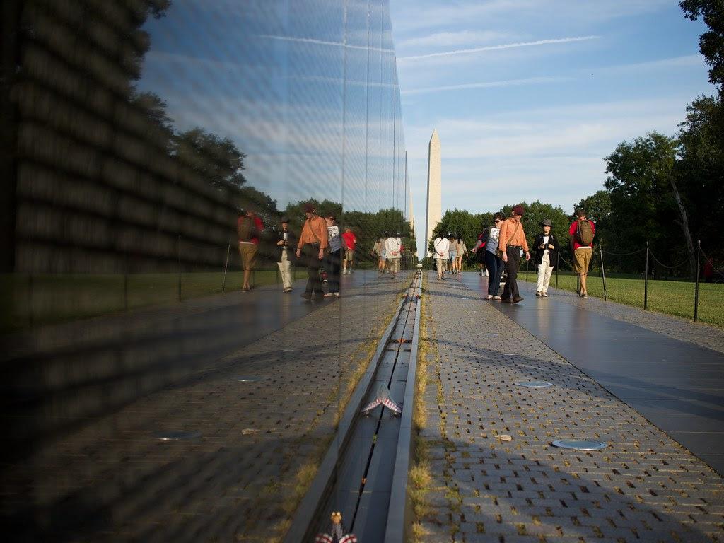 Vietnam Veterans Memorial Wall - Washington, D.C.