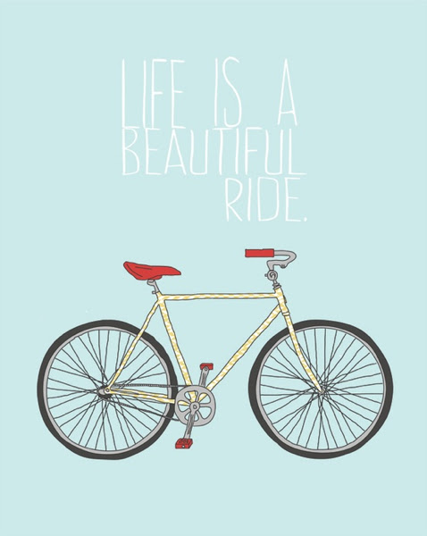 Life Is A Beautiful Ride Quote Picture