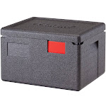 Cambro EPP260SW110 GoBox Insulated Food Carrier - Expanded Polypropylene - Black