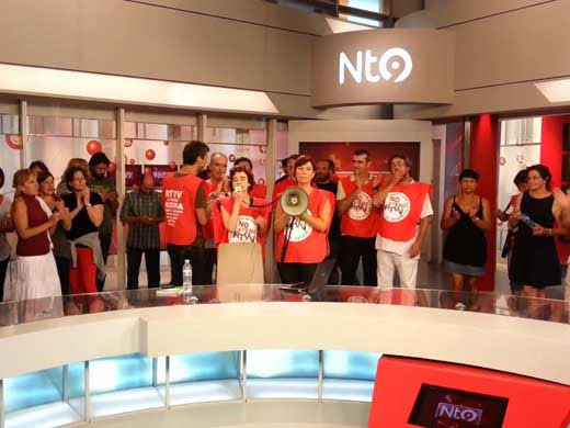 España: Gobierno valenciano cerró canal de televisión tras anularse un despido colectivo