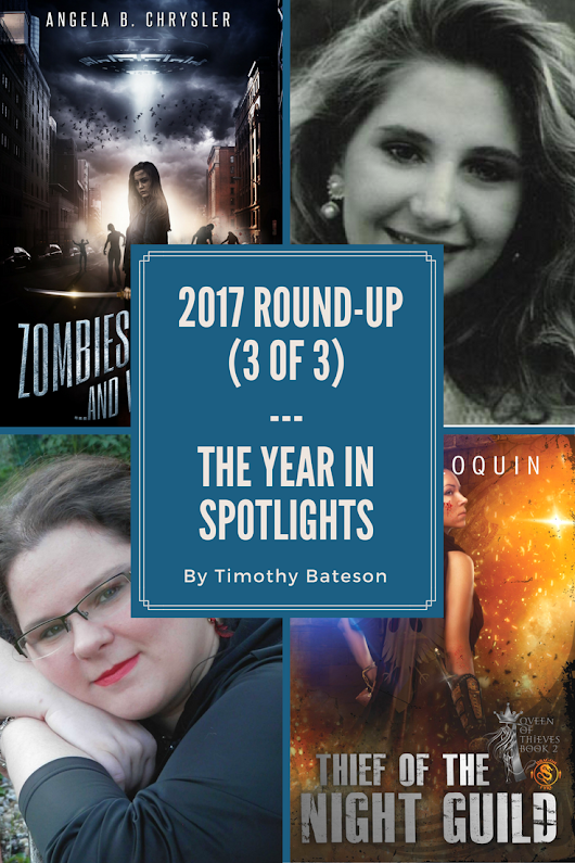 A 2017 Round-up 3 of 3 – A Year In The Spotlights