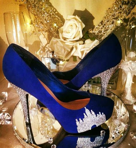 Disney castle crystal shoes heels   Happily Ever After