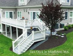 Two Story Deck on Pinterest
