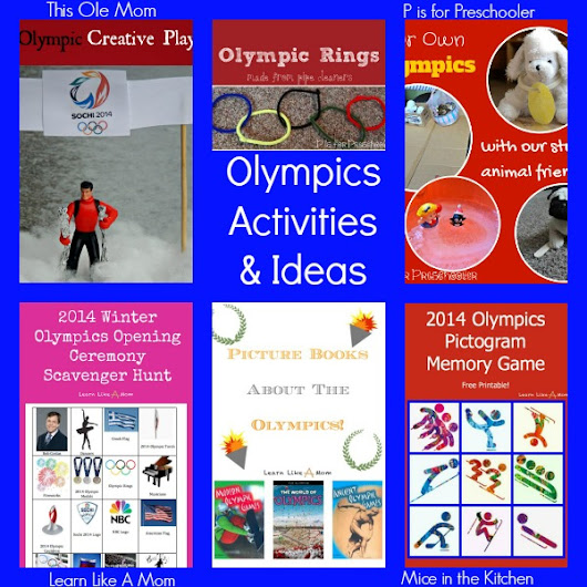 Winter Olympics Activities - Learn Like A Mom!