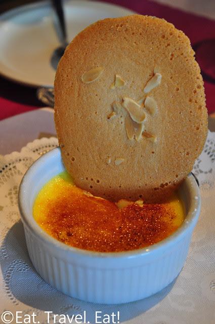 Sesame Grill: Creme Brulee
