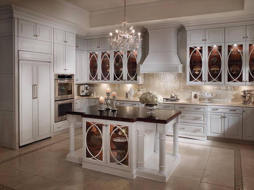 Beautiful Antique White Kitchen Cabinets for Timeless Appeal  MYKITCHENINTERIOR