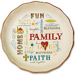 Abbey Press Family Pie Plate