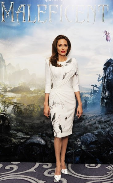 Angelina Jolie - 'Maleficent' Photo Call in London