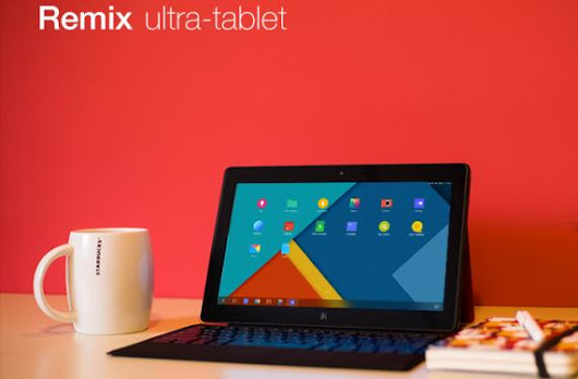 The Remix: Android tablet with laptop experience