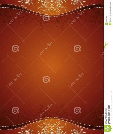 Brown background, vector stock vector. Image of decor