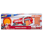 Nerf Megalodon Mega Toy Blaster & 20 Nerf Darts