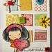 card - heartfelt wishes - squares deco