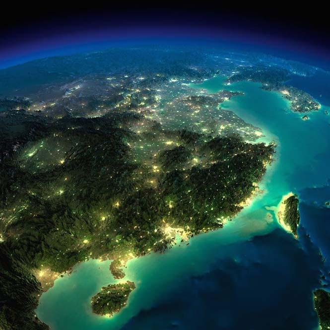 Εκπληκτικές νυχτερινές εικόνες της Γης (16)
