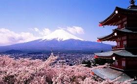 Gambar Pemandangan Gunung Fuji Jepang