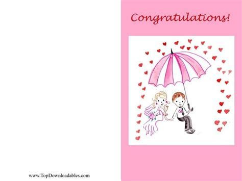 printable bridal shower card tented cards   Printable Pages