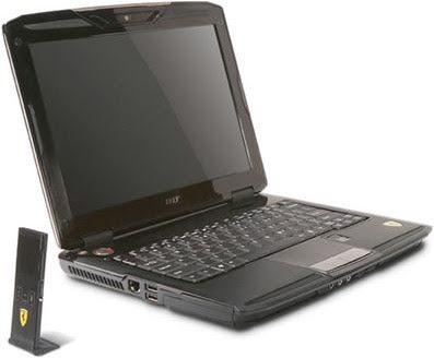 Acer Ferrari 1100 Notebook PC - Review