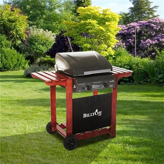 BillyOh Acorn Hooded Gas BBQ - 2,3,4 or 6 Burner with Hose & Regulator | BillyOh