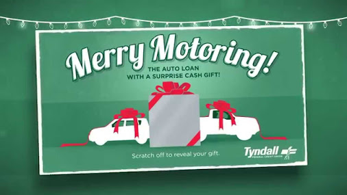 Tyndall Federal Credit Union's Merry Motoring Campaign