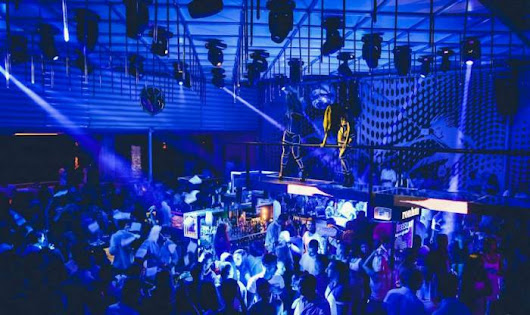 The most popular night clubs - Belgrade at night