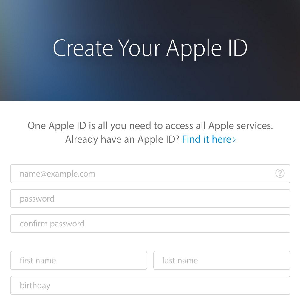 How Do You Create Apple Id