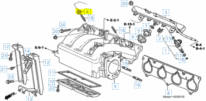Acura K20a2 Engine Diagram