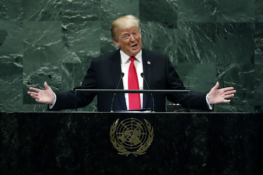 'People actually laughed at a president': At U.N. speech, Trump suffers the fate he always feared