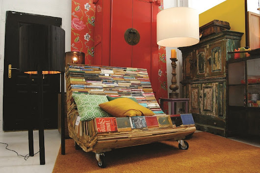 Fabulous upcycling ideas to inspire you with RETRASH | Recycled Interiors