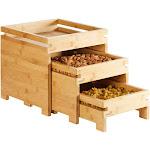 Rosseto BD131 Natura Nesting Bamboo Box Stands