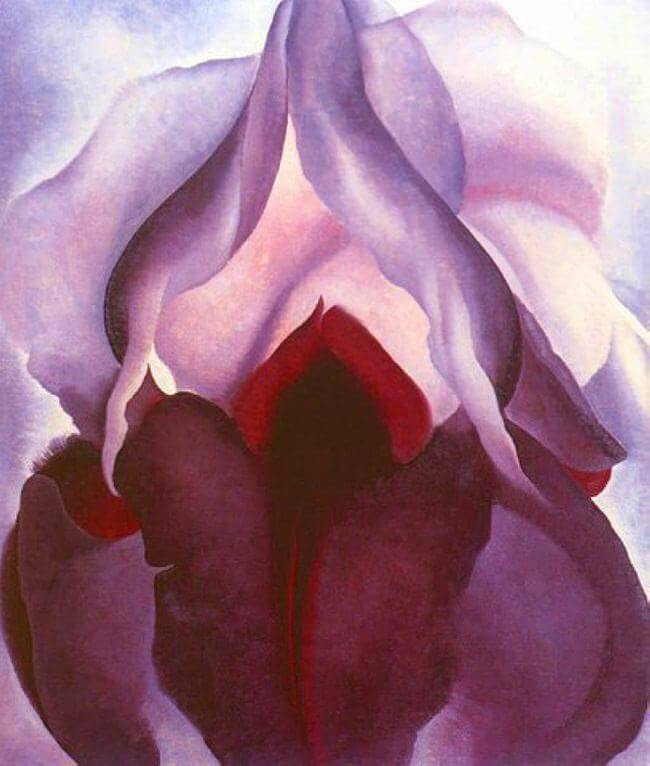 Flower of Life II, 1925, 1918 by Georgia O'Keeffe