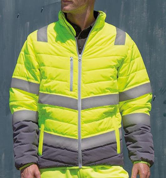 Result - Men`s Soft Padded Safety Jacket -