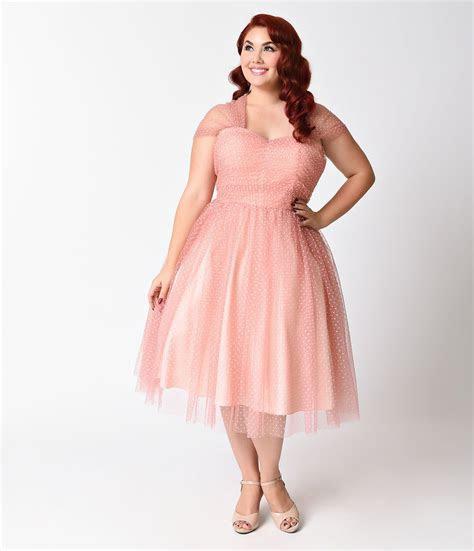 Plus Size Vintage Dresses, Plus Size Retro Dresses   1940s
