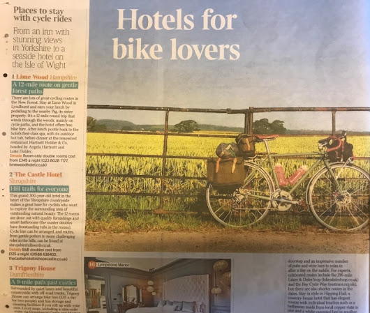 The Times – Country House Cycle Escapes