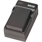Bower CH G19 Individual Charger for Canon BP 511 BP 511A BP 512 BP 522 BP 525 and BP 508 Batteries Black