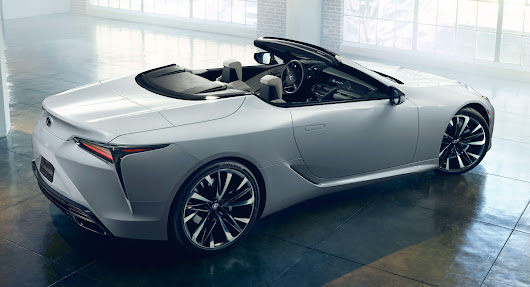 "Lexus LC Convertible ""Concept"" Is Obviously Ready To Enter Production 