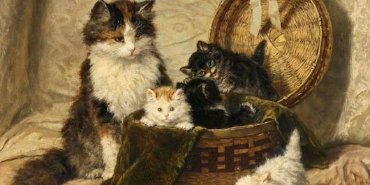 Feline Dress Improvers: The Victorian Fashion in Bustle Baskets for Cats