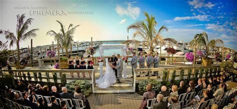 Waterfront Ceremonies at The Channel Club   Monmouth Beach