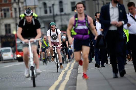 Walking and cycling are still good for you despite air pollution