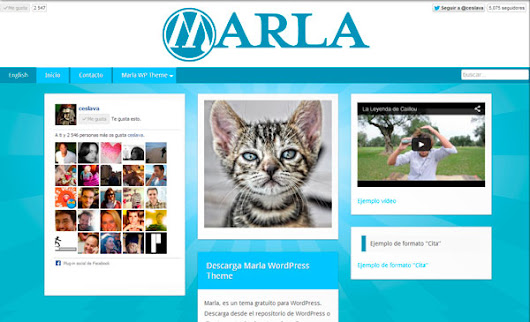 Descarga Marla WordPress Theme | Marla WordPress Theme