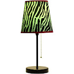 Limelights Fun Prints Funky Pattern Table Lamp LT3000-ZBA