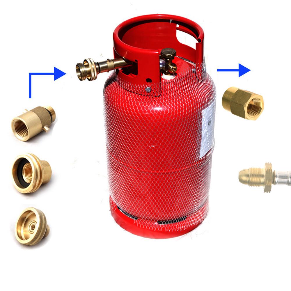 Refillable LPG Propane Gas Bottle Motorhome Camper Caravan ...