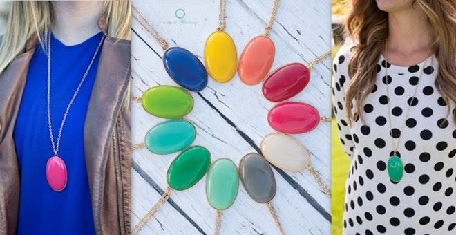 Large Bead Pendant - 11 Colors!